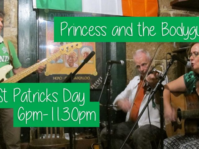 St Patrick's Day – 17 March 2017